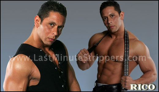 Rico Male Stripper and Exotic Dancer